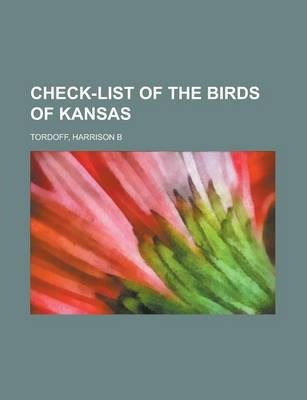 Check-List of the Birds of Kansas