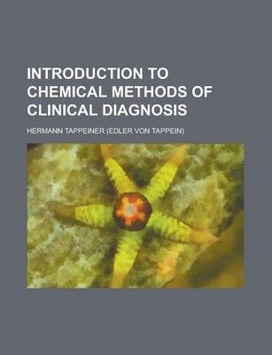 Introduction to Chemical Methods of Clinical Diagnosis
