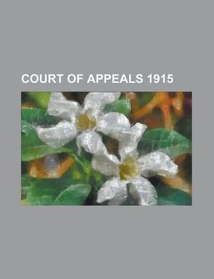 Court of Appeals 1915