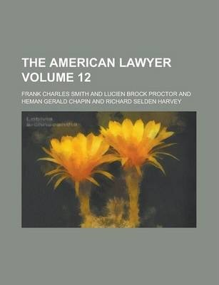 The American Lawyer Volume 12
