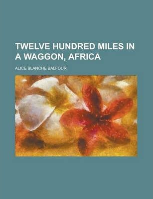 Twelve Hundred Miles in a Waggon, Africa