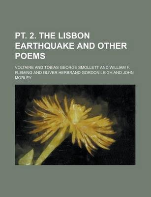PT. 2. the Lisbon Earthquake and Other Poems