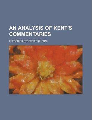 An Analysis of Kent's Commentaries