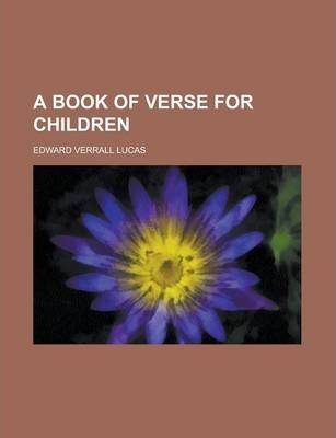 A Book of Verse for Children