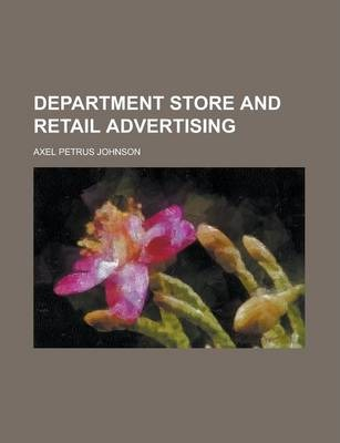 Department Store and Retail Advertising