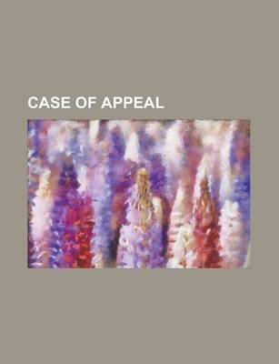 Case of Appeal