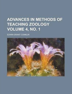 Advances in Methods of Teaching Zoology Volume 4, No. 1