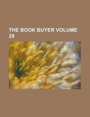 The Book Buyer Volume 29