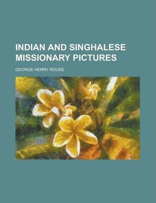 Indian and Singhalese Missionary Pictures