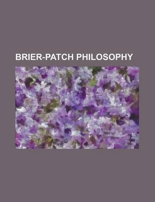 Brier-Patch Philosophy