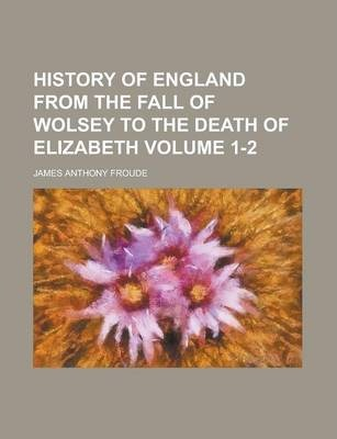 History of England; From the Fall of Wolsey to the Death of Elizabeth Volume 12