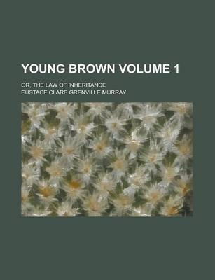 Young Brown; Or, the Law of Inheritance Volume 1