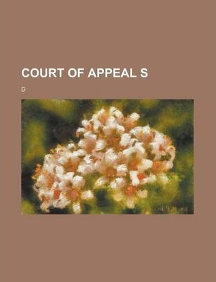Court of Appeal S