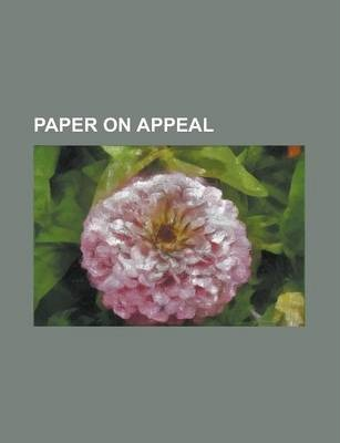 Paper on Appeal
