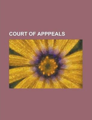 Court of Apppeals