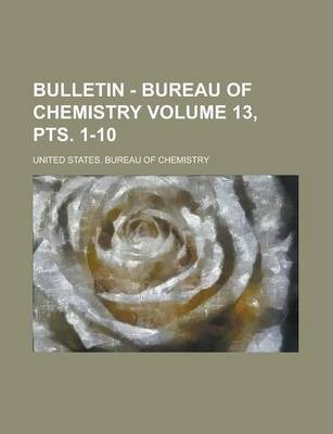 Bulletin - Bureau of Chemistry Volume 13, Pts. 1-10