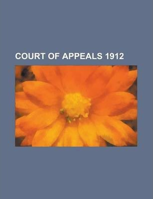 Court of Appeals 1912