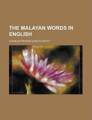 The Malayan Words in English