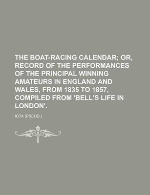 The Boat-Racing Calendar