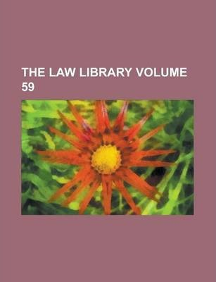 The Law Library Volume 59