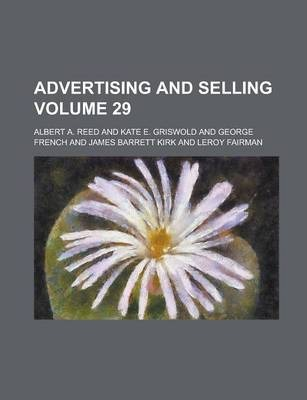 Advertising and Selling Volume 29