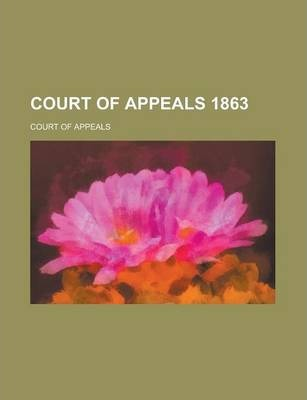Court of Appeals 1863
