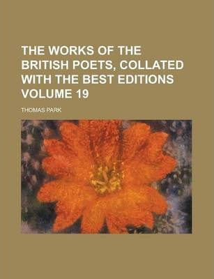 The Works of the British Poets, Collated with the Best Editions Volume 19