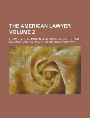 The American Lawyer Volume 2