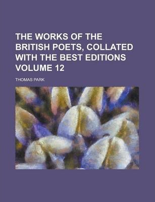 The Works of the British Poets, Collated with the Best Editions Volume 12