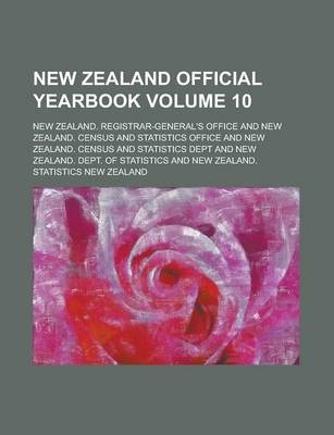 New Zealand Official Yearbook Volume 10