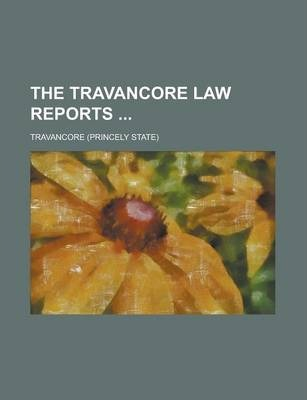 The Travancore Law Reports