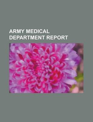 Army Medical Department Report