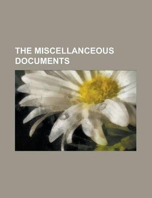 The Miscellanceous Documents