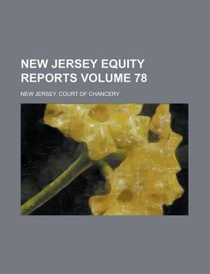New Jersey Equity Reports Volume 78