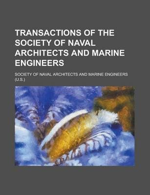 Transactions of the Society of Naval Architects and Marine Engineers Volume 10