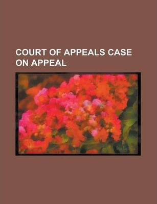 Court of Appeals Case on Appeal