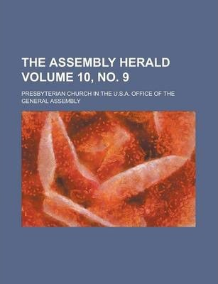 The Assembly Herald Volume 10, No. 9