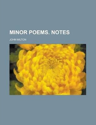 Minor Poems. Notes