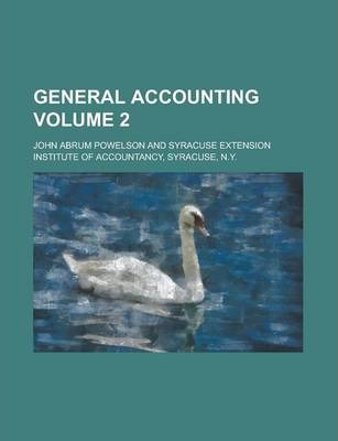 General Accounting Volume 2