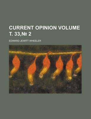 Current Opinion Volume . 33, 2