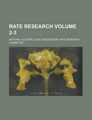 Rate Research Volume 2-3