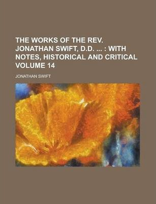 The Works of the REV. Jonathan Swift, D.D. Volume 14