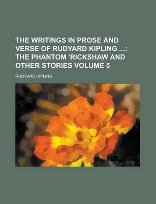 The Writings in Prose and Verse of Rudyard Kipling Volume 5