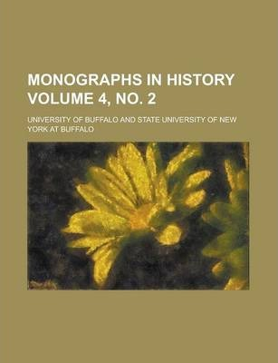 Monographs in History Volume 4, No. 2