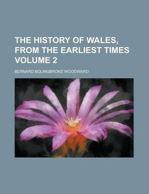 The History of Wales, from the Earliest Times Volume 2