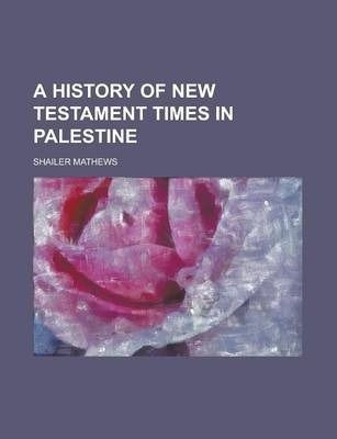 A History of New Testament Times in Palestine