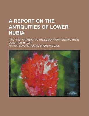 A Report on the Antiquities of Lower Nubia; (The First Cataract to the Sudan Frontier) and Their Condition in 1906-7