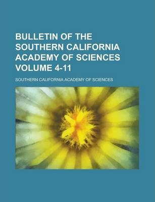 Bulletin of the Southern California Academy of Sciences Volume 4-11