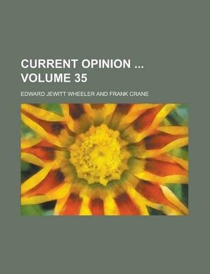 Current Opinion Volume 35