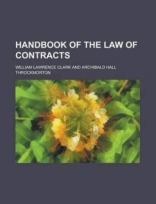 Handbook of the Law of Contracts